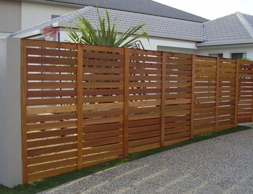High and low pet proof fence
