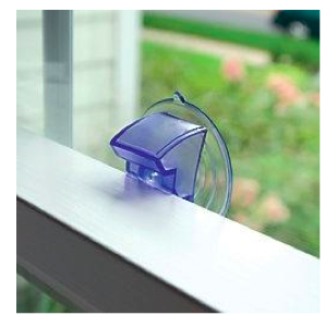 Suction window cat safety latch